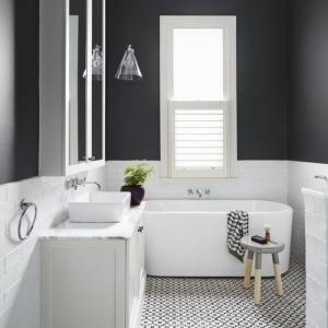 Peinture salle de bain - 80 photos qui vont vous faire craquer