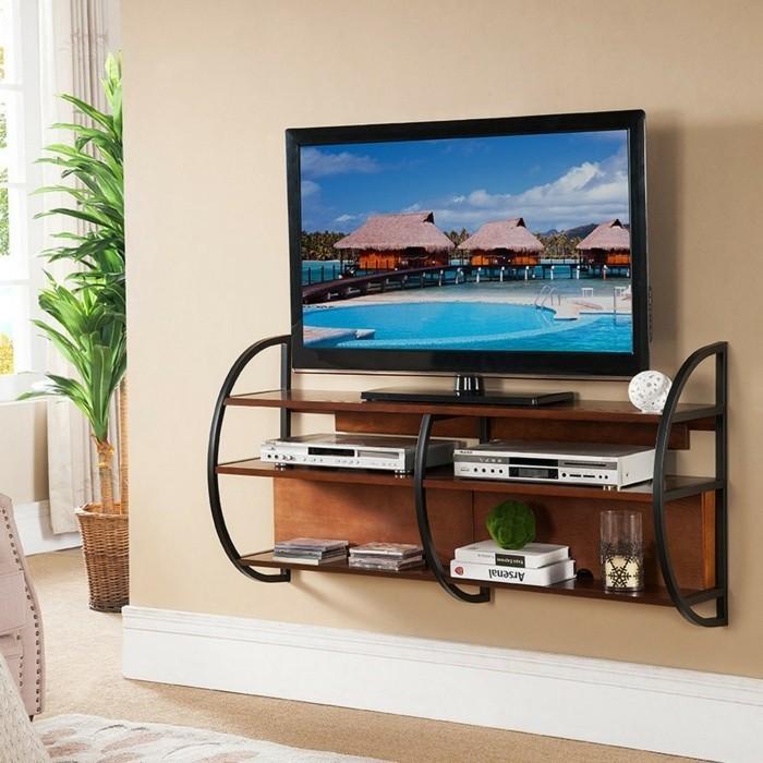 Fabriquer un meuble tv instructions et mod les diy for Meuble sous tele murale
