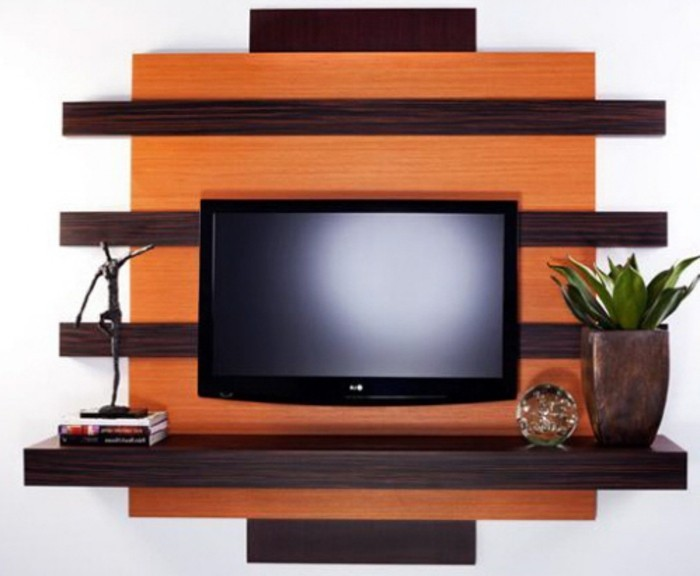 fabriquer un meuble tv suspendu maison design. Black Bedroom Furniture Sets. Home Design Ideas