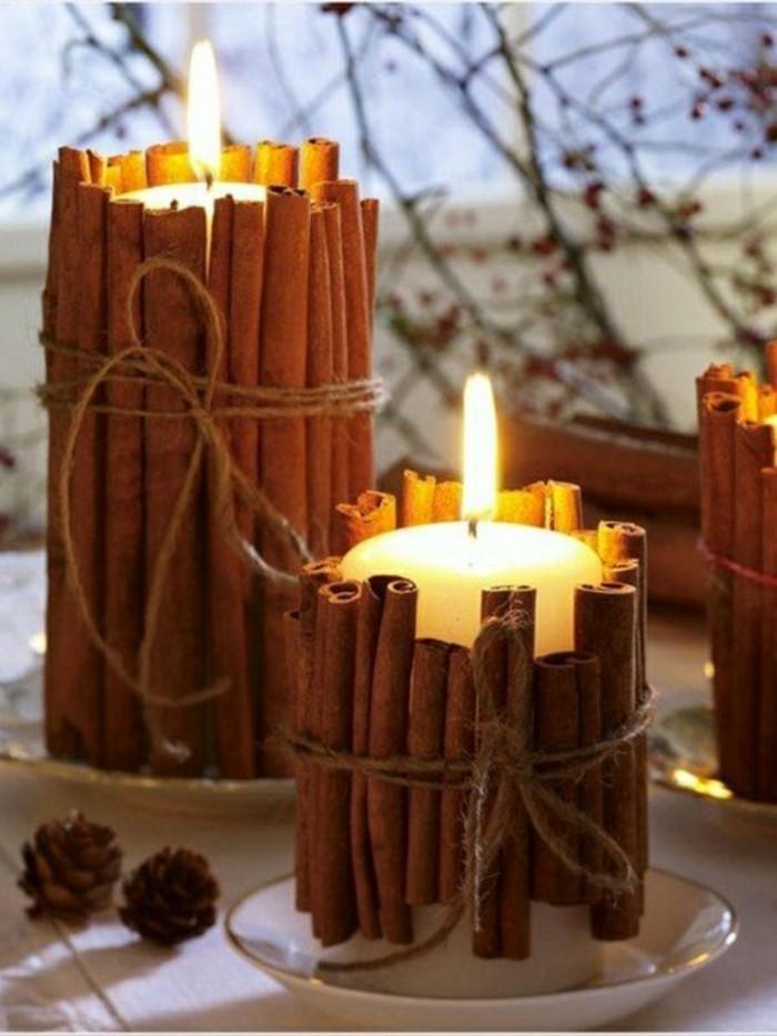 activite-manuelle-adulte-pour-decorer-les-bougies-bricolage-automne-diy