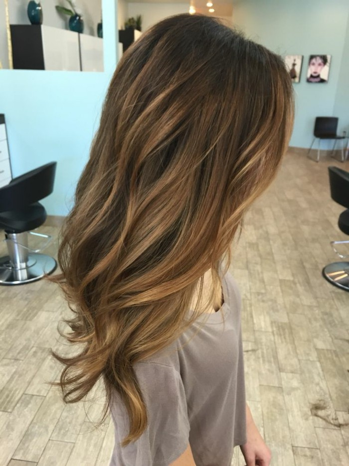 admirable,coiffure,idee,balayage,pour,brune