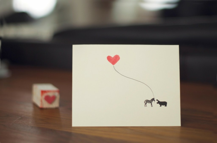 amour-carte-de-la-saint-valentin-faire-le-diy