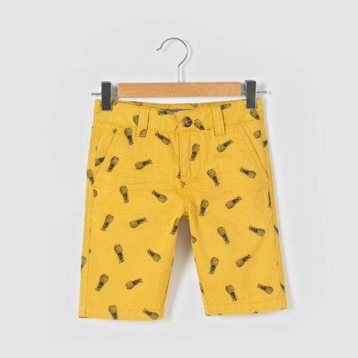 bermuda-enfant-la-redoute-jaune-aux-imprimes-ananas-resized