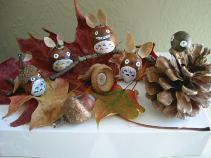 bricolage-automne-feuille-automne-pin-et-marrons-bricolage-automne-idee