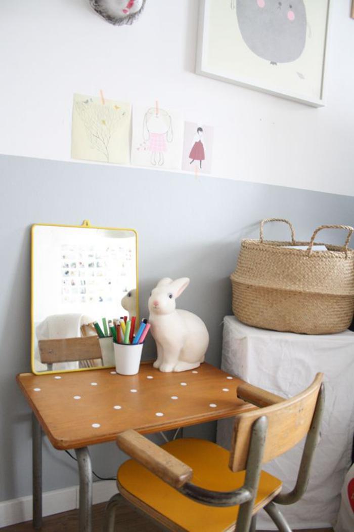 bureau-d-ecolier-bureau-design-vintage-bois-et-fer