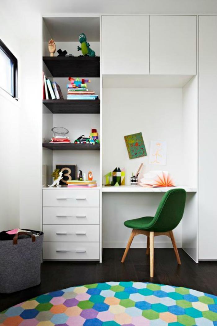 bureau-d-ecolier-bureau-enfant-avec-bibliotheque