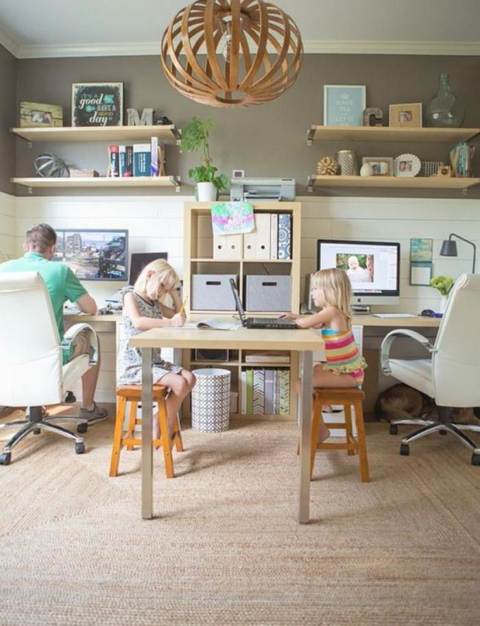 bureau-d-ecolier-idee-deco-bureau-enfants