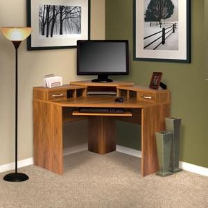 Un bureau informatique d' angle - quel bureau choisir pour votre petit office?