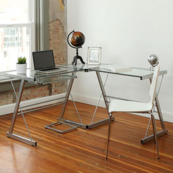 un bureau informatique d 39 angle quel bureau choisir pour votre petit office. Black Bedroom Furniture Sets. Home Design Ideas