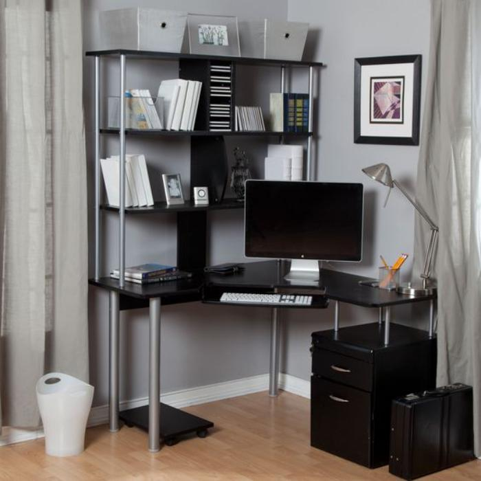 un bureau informatique d 39 angle quel bureau choisir pour. Black Bedroom Furniture Sets. Home Design Ideas