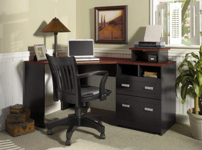 bureau-informatique-d-angle-petit-bureau-dangle-vintage