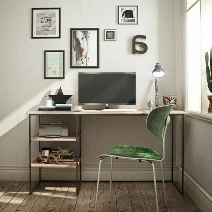 Id es de d coration d 39 un bureau style industriel - Peinture style industriel ...