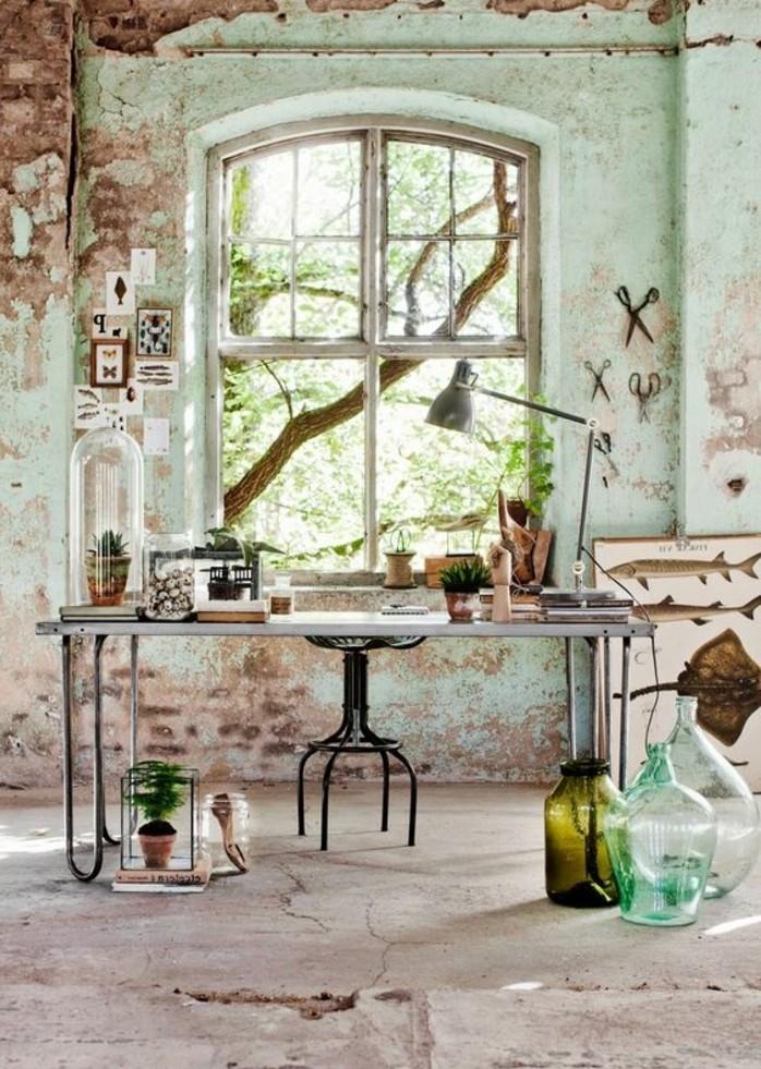bureau-style-industriel-décor-artistique