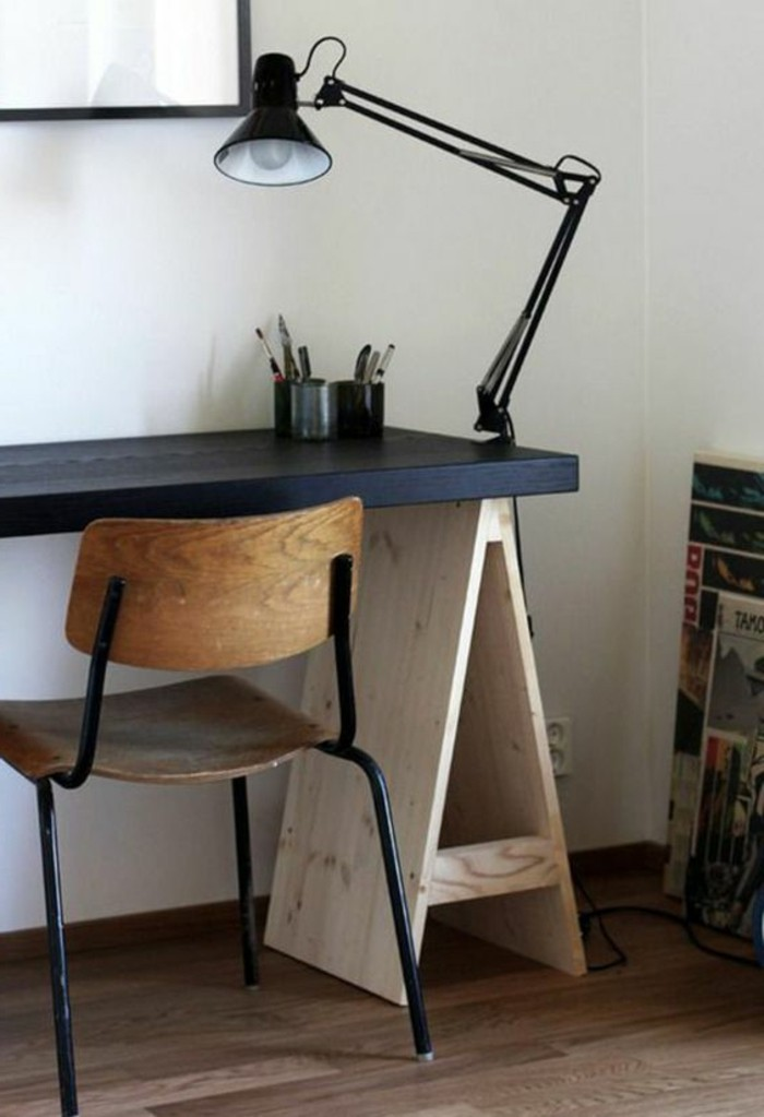 lampe de bureau style industriel maison design. Black Bedroom Furniture Sets. Home Design Ideas