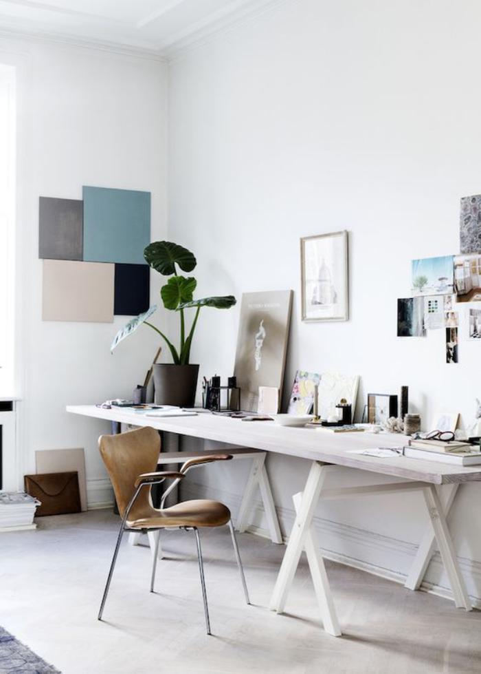 marvellous home office interior design ideas | Aménagement d'un petit espace de travail - le bureau style ...