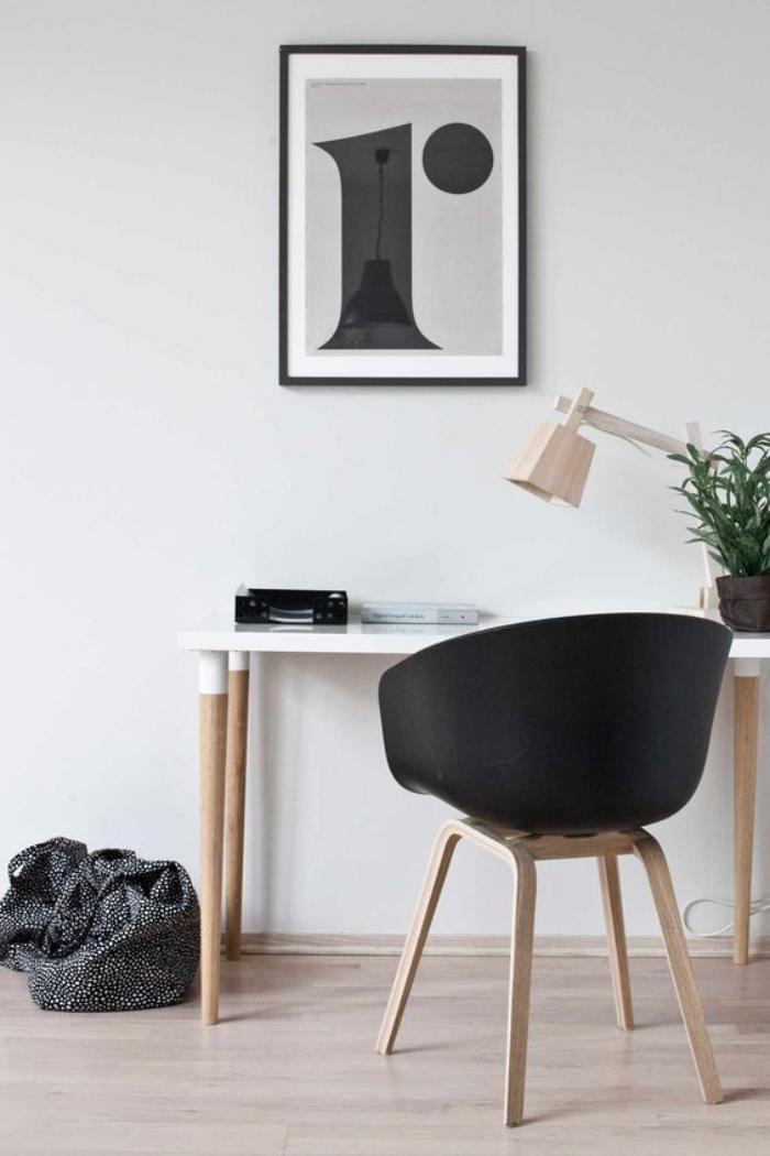 bureau-style-scandinave-décor-épuré-et-sobre