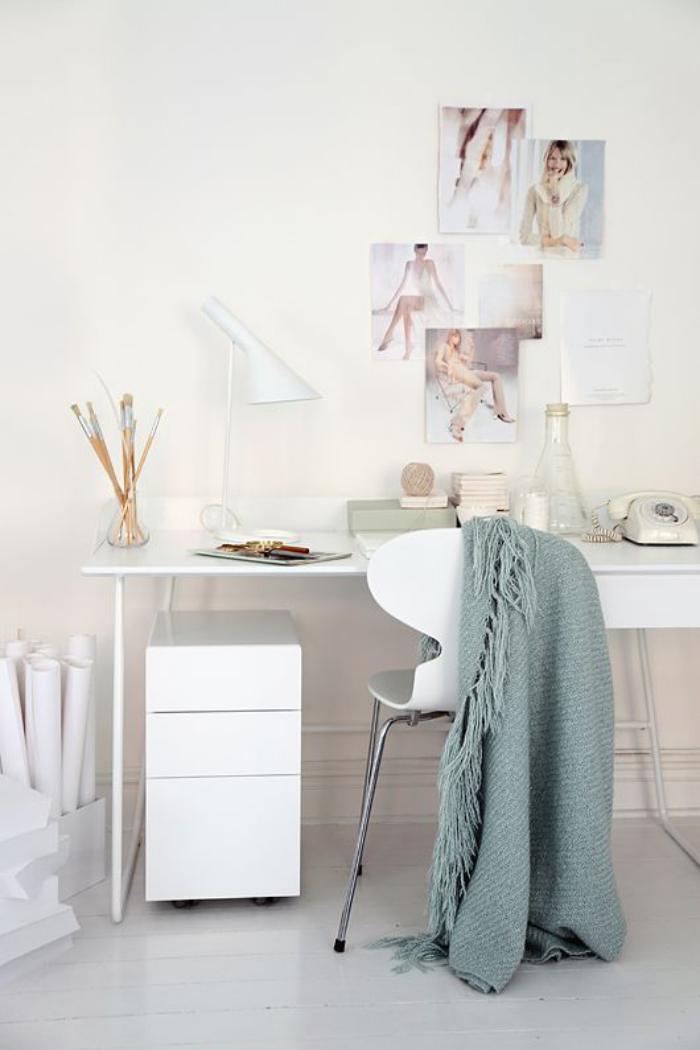 bureau-style-scandinave-décoration-et-personnalisation-de-petit-bureau-scandinave