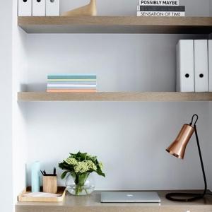 Aménagement d'un petit espace de travail - le bureau style scandinave
