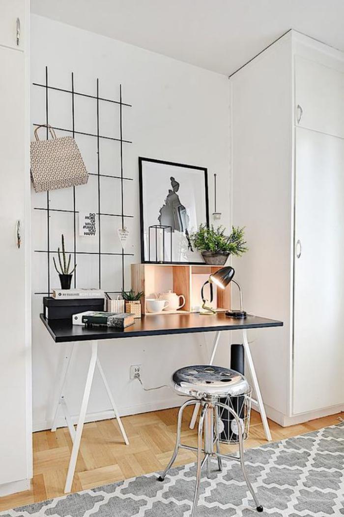 bureau-style-scandinave-espace-de-travail-déco-scandinave