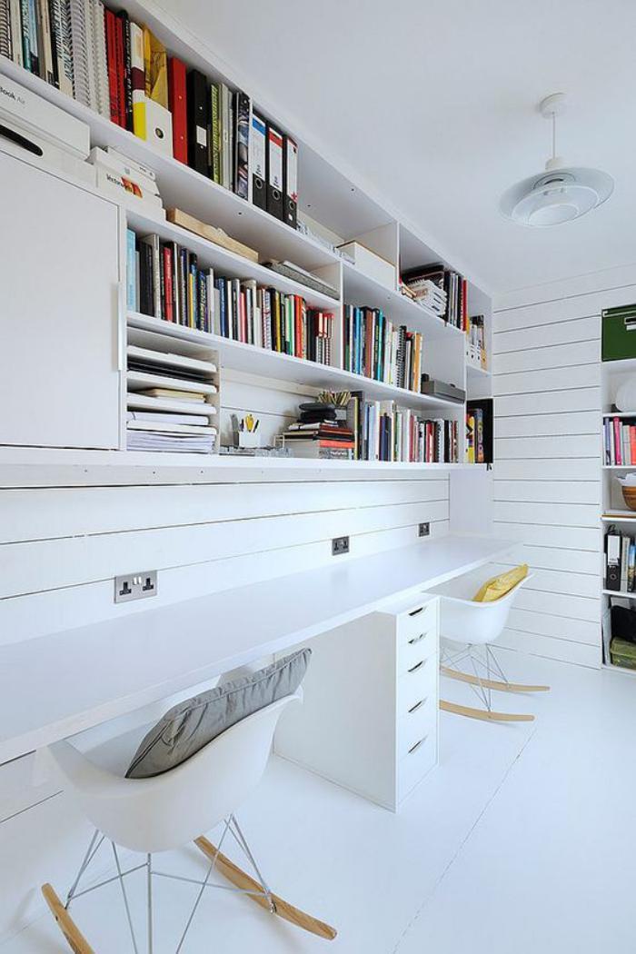 Aménagement Du0027un Petit Espace De Travail U2013 Le Bureau Style Scandinave ...