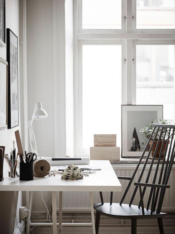 Am 233 Nagement D Un Petit Espace De Travail Le Bureau Style