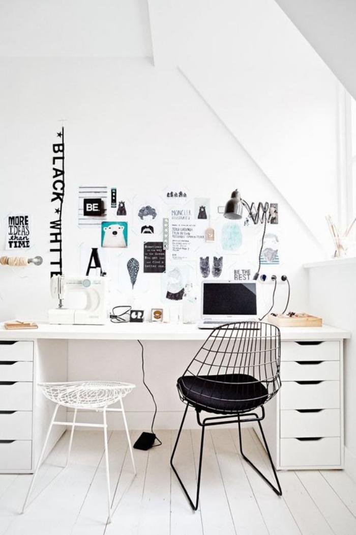 bureau-style-scandinave-petitèoffice-à-la-maison-déco-en-blanc
