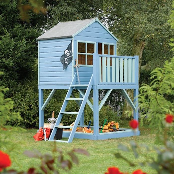 cabane-jardin-enfant-bois-bleu-maisonnette-enfant