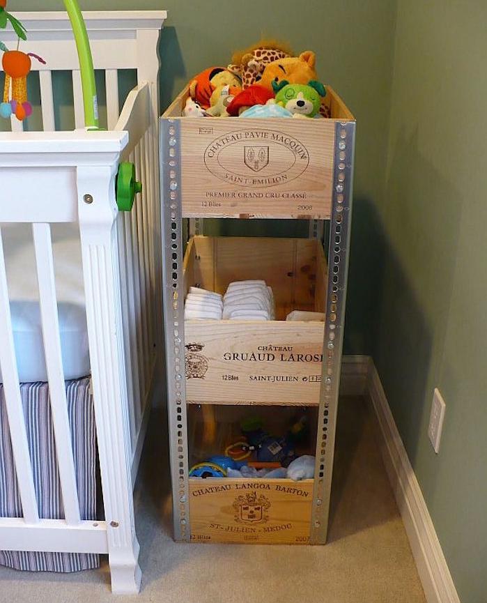 Diy recycler une caisse en bois deco en 40 id es - Que faire avec des caisses en bois ...