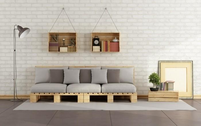 canape en palette de bois