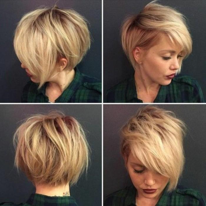 coupe cheveux carre court destructure