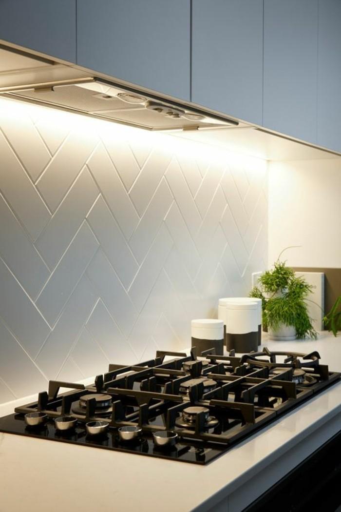 Le carrelage blanc 74 id es fantastiques pour le rev tement for Carrelage design cuisine