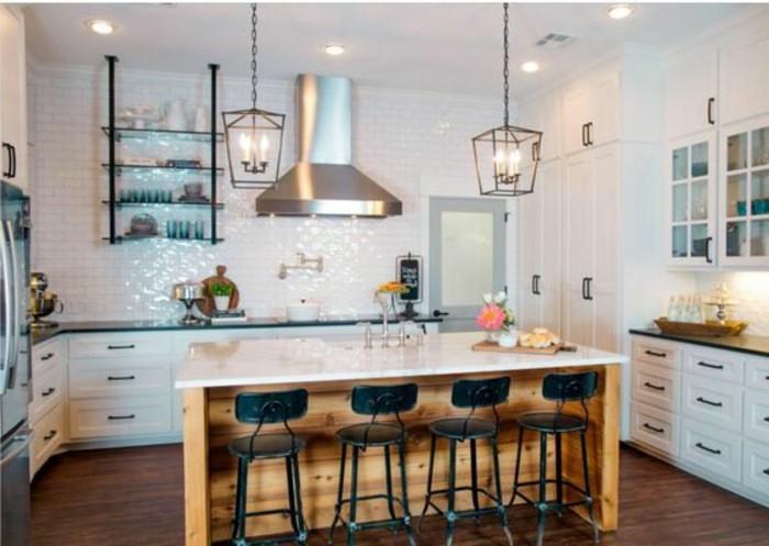 carrelage-blanc-grande-cuisine-design-magnifique