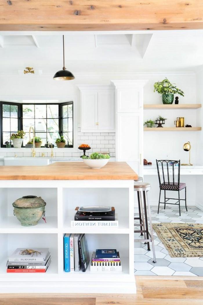 Le carrelage m tro blanc fait fureur dans la cuisine - Couple faisant l amour dans la cuisine ...