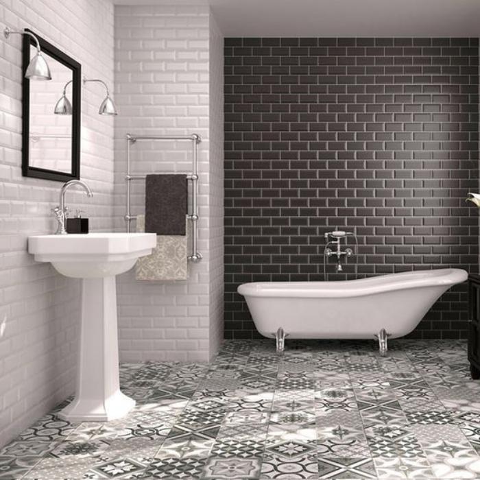 carrelage-noir-sol-motifs-carreaux-de-ciment-et-carreaux-muraux-noirs
