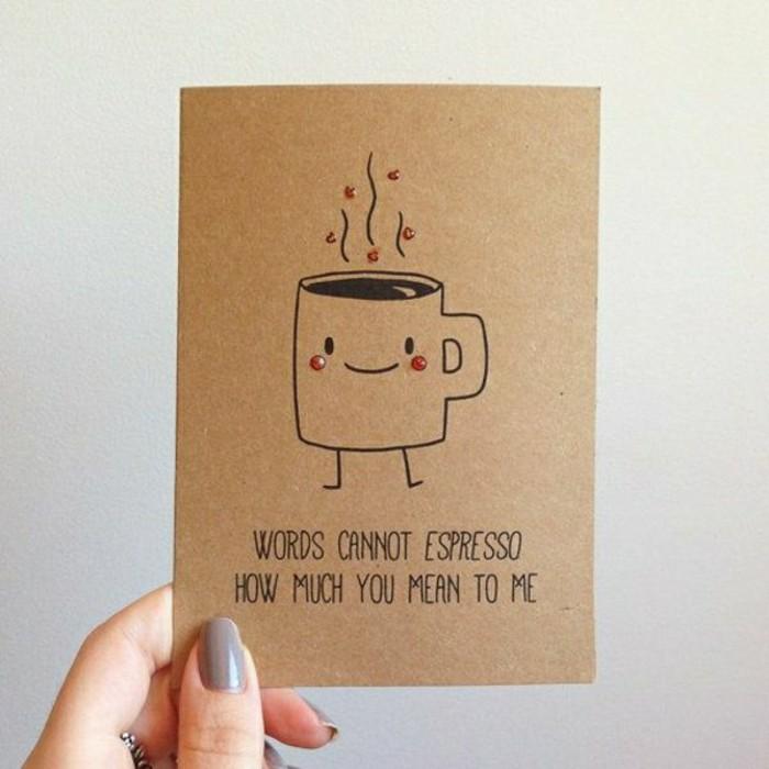 cartes-de-voeux-originales-avec-un-tasse-du-cafe-et-citation