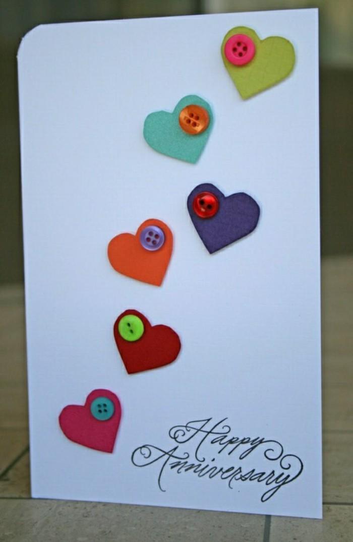 cartes-de-voeux-originales-decoration-avec-des-coueurs-colores-et-des-boutons