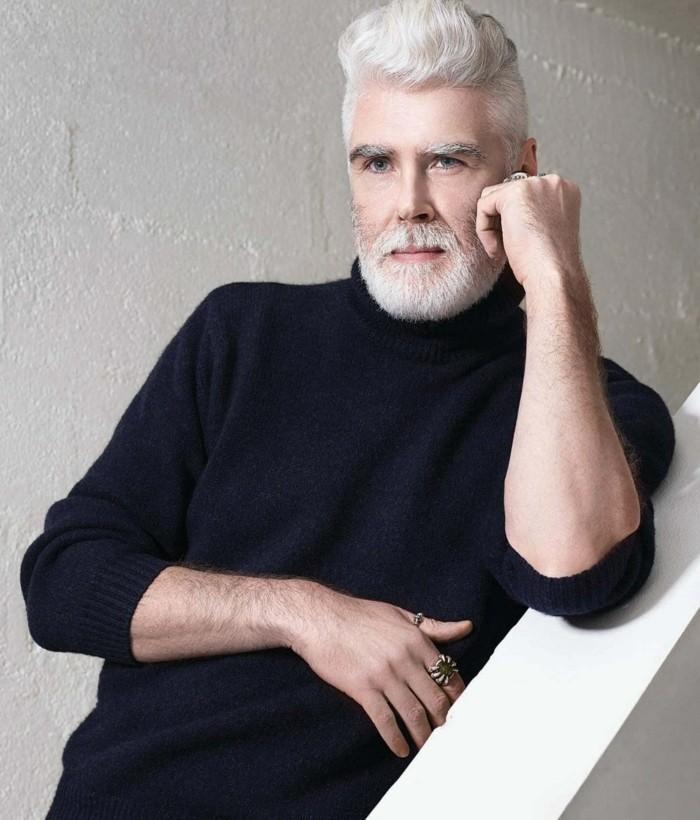 cheveux poivre et sel homme shampooing cheveux blancs - Coloration Cheveux Blancs Homme