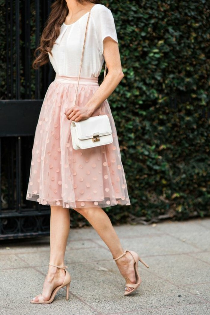 chique-robe-jupe-romantique-rose-tenue-st-valentin-boheme-diner