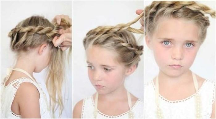 Préférence Coiffure petite fille - 90 idées pour votre petite princesse ZX25