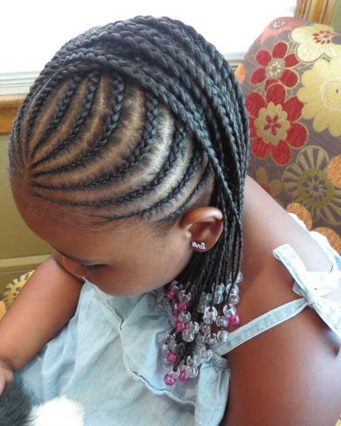 coiffure tresse africaine pour petite fille. Black Bedroom Furniture Sets. Home Design Ideas