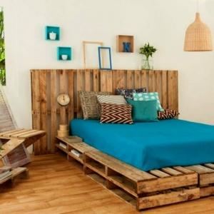 Fabriquer un meuble tv instructions et mod les diy - Comment fabriquer un lit en palette ...