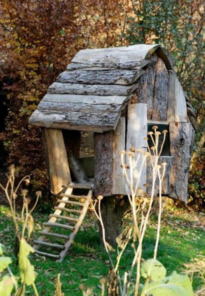 Construire cabane jardin id es de - Cabane de jardin pour fille boulogne billancourt ...