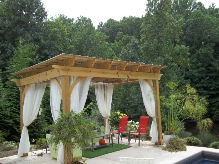 comment fabriquer une pergola awesome construire with. Black Bedroom Furniture Sets. Home Design Ideas