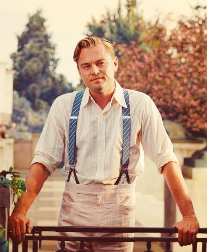 Leonardo Dicaprio Pourrait Jouer Dans Gatsby Le Magnifique: Comment Porter Des Bretelles? 60 Images Qui Vont Répondre