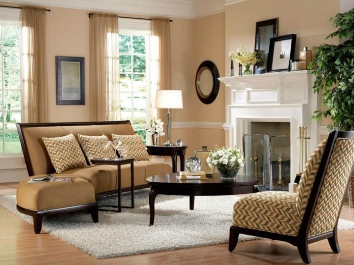 salon beige et marron couleur peinture salon conseils et p os pour vous inspirer - Peinture Salon Beige Et Marron