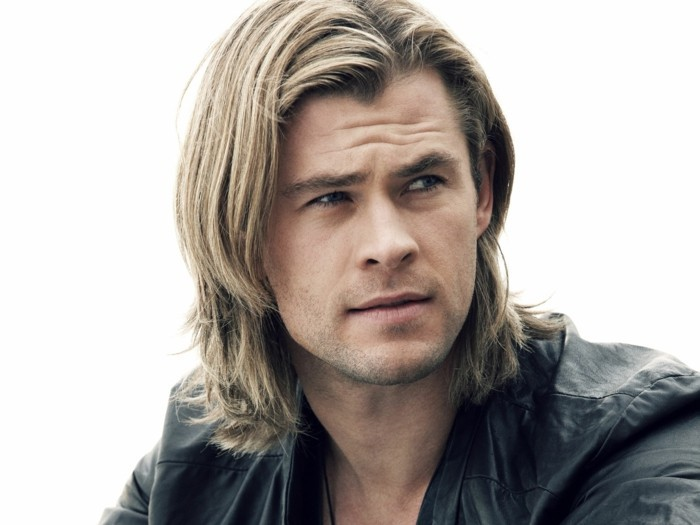 Coupe De Cheveux Homme Blond Mi Long
