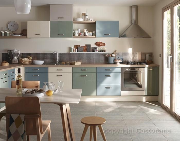 cuisine-castorama-meubles-cuisine-colores-sol-en-carrelage-gris-meubles-en-bois-clair