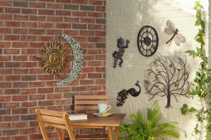decoration-murale-exterieure-statue-jardin