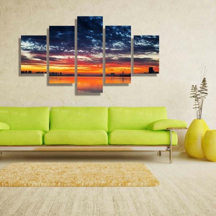 Decoration murale geante id es conseils et combinaisons en photo - Deco murale design et stylee enidees inspirantes ...