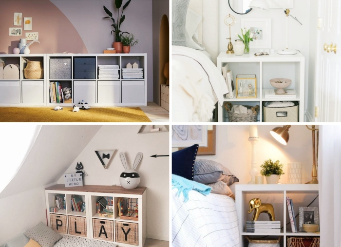 design chambre à coucher sous combles aménagement chambre d enfant style scandinave